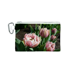 Tulips Canvas Cosmetic Bag (Small)