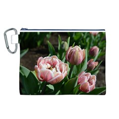 Tulips Canvas Cosmetic Bag (Large)