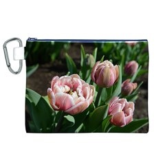 Tulips Canvas Cosmetic Bag (XL)