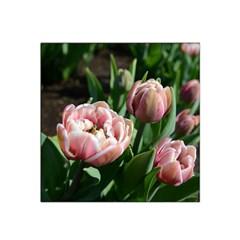 Tulips Satin Bandana Scarf