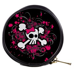 Girly Skull And Crossbones Mini Makeup Case
