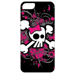 Girly Skull And Crossbones Apple Iphone 5 Classic Hardshell Case