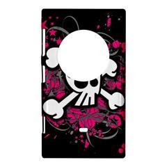 Girly Skull And Crossbones Nokia Lumia 1020 Hardshell Case