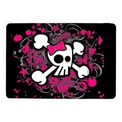 Girly Skull And Crossbones Samsung Galaxy Tab Pro 10.1  Flip Case