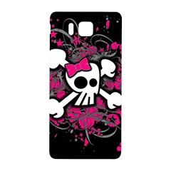 Girly Skull And Crossbones Samsung Galaxy Alpha Hardshell Back Case