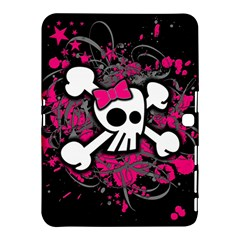 Girly Skull And Crossbones Samsung Galaxy Tab 4 (10 1 ) Hardshell Case