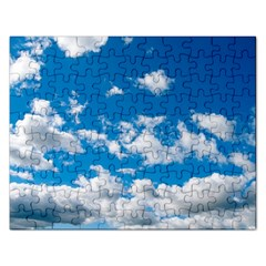 Bright Blue Sky Jigsaw Puzzle (rectangle)