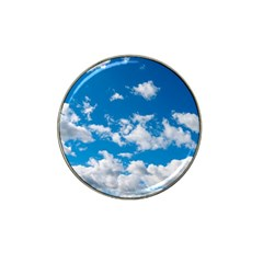 Bright Blue Sky Golf Ball Marker (for Hat Clip)