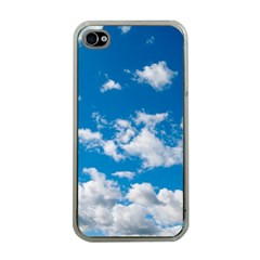 Bright Blue Sky Apple Iphone 4 Case (clear)