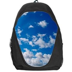 Bright Blue Sky Backpack Bag