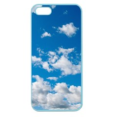 Bright Blue Sky Apple Seamless Iphone 5 Case (color)