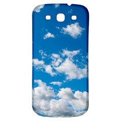 Bright Blue Sky Samsung Galaxy S3 S Iii Classic Hardshell Back Case