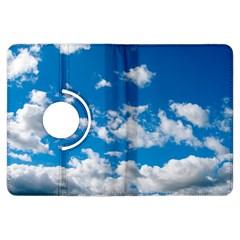 Bright Blue Sky Kindle Fire Hdx Flip 360 Case