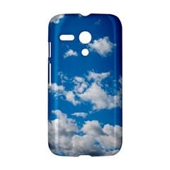 Bright Blue Sky Motorola Moto G Hardshell Case