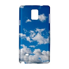 Bright Blue Sky Samsung Galaxy Note 4 Hardshell Case
