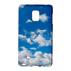 Bright Blue Sky Samsung Galaxy Note Edge Hardshell Case