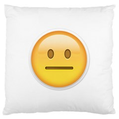 Neutral Face  Large Cushion Case (single Sided)