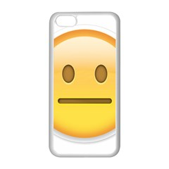 Neutral Face  Apple Iphone 5c Seamless Case (white)