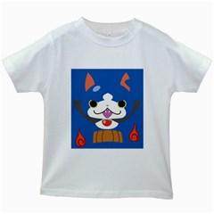 Gabunyan Reverse Print Kids T Shirt (white)
