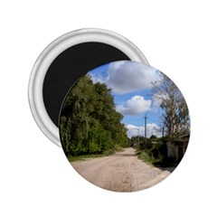 Dusty Road 2 25  Button Magnet