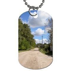 Dusty Road Dog Tag (two Sided)
