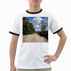 Dusty Road Men s Ringer T-shirt