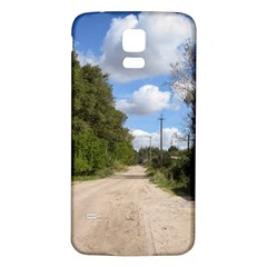 Dusty Road Samsung Galaxy S5 Back Case (White)