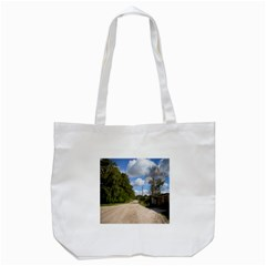 Dusty Road Tote Bag (White)