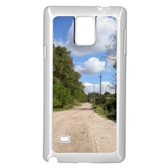 Dusty Road Samsung Galaxy Note 4 Case (White)