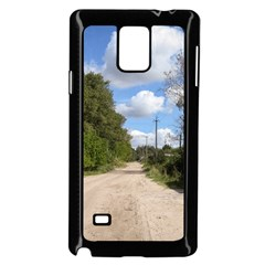 Dusty Road Samsung Galaxy Note 4 Case (black)