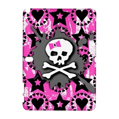 Pink Bow Skull Samsung Galaxy Note 10 1 (p600) Hardshell Case