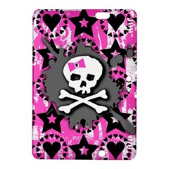 Pink Bow Skull Kindle Fire Hdx 8 9  Hardshell Case