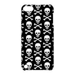 Skull And Crossbones Pattern Apple Ipod Touch 5 Hardshell Case With Stand