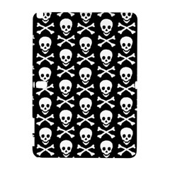 Skull and Crossbones Pattern Samsung Galaxy Note 10.1 (P600) Hardshell Case