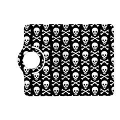 Skull And Crossbones Pattern Kindle Fire Hd (2013) Flip 360 Case
