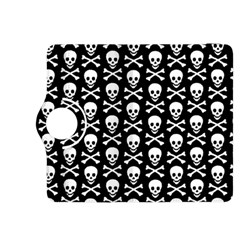 Skull and Crossbones Pattern Kindle Fire HDX 8.9  Flip 360 Case