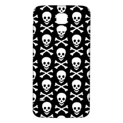 Skull and Crossbones Pattern Samsung Galaxy S5 Back Case (White)