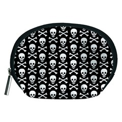 Skull and Crossbones Pattern Accessory Pouch (Medium)