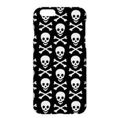 Skull and Crossbones Pattern Apple iPhone 6 Plus Hardshell Case