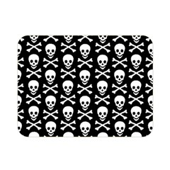 Skull And Crossbones Pattern Double Sided Flano Blanket (mini)