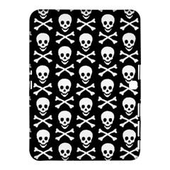 Skull and Crossbones Pattern Samsung Galaxy Tab 4 (10.1 ) Hardshell Case
