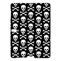 Skull and Crossbones Pattern Samsung Galaxy Tab S (10.5 ) Hardshell Case