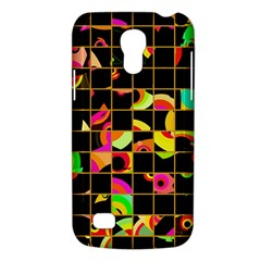 Pieces In Squares Samsung Galaxy S4 Mini (gt I9190) Hardshell Case