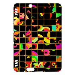 Pieces In Squares Kindle Fire Hdx Hardshell Case