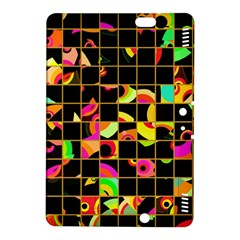 Pieces In Squares Kindle Fire Hdx 8 9  Hardshell Case