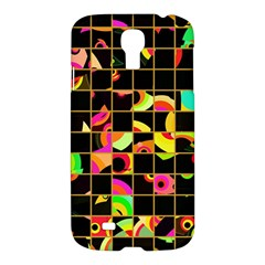 Pieces In Squares	samsung Galaxy S4 I9500/i9505 Hardshell Case $10