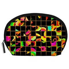 Pieces in squares Accessory Pouch