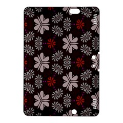 Floral pattern on a brown background	Kindle Fire HDX 8.9  Hardshell Case