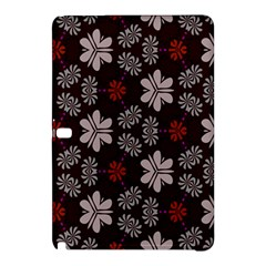 Floral pattern on a brown backgroundSamsung Galaxy Tab Pro 10.1 Hardshell Case