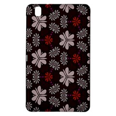 Floral pattern on a brown backgroundSamsung Galaxy Tab Pro 8.4 Hardshell Case